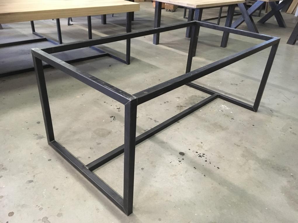 tafel frame staal 4cm - tafelpoten en onderstellen - kaldenbach meubels