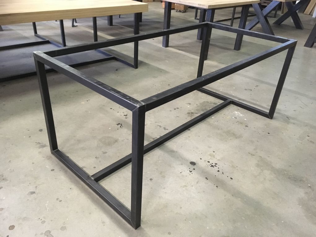 Tafel Stalen Frame : Tafel frame staal cm tafelpoten en onderstellen kaldenbach