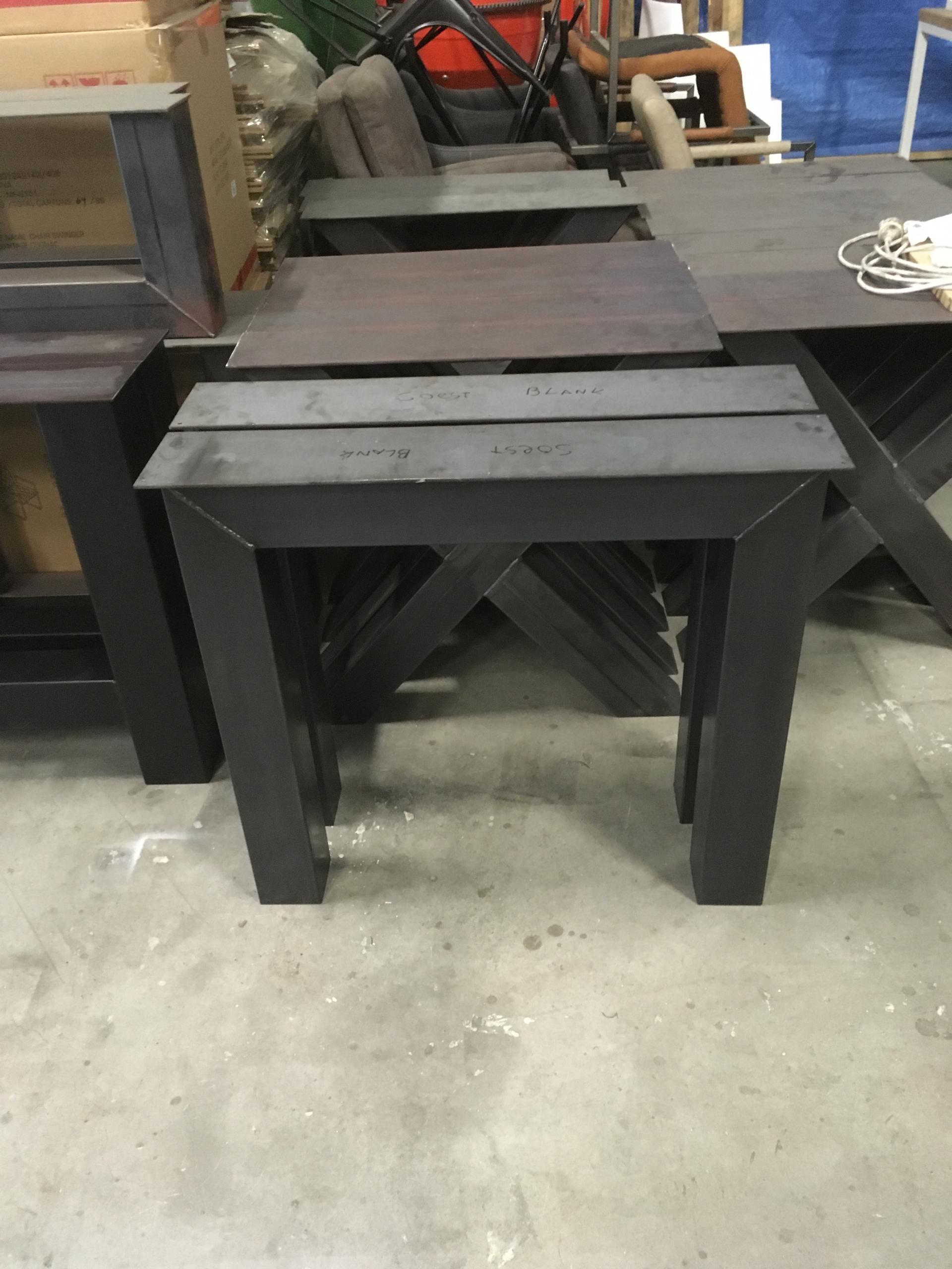 Bedwelming Stalen N poten - Tafelpoten en Onderstellen - Kaldenbach meubels #ZQ38